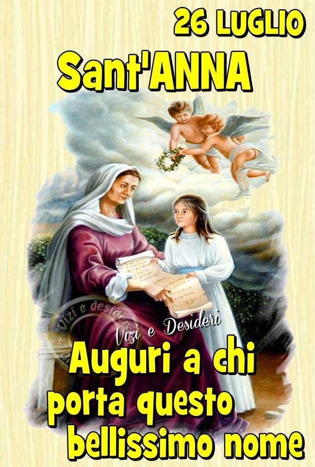 26 Luglio - Sant'Anna