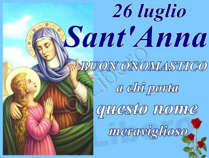 Santa'Anna: Buon Onomastico a chi porta...