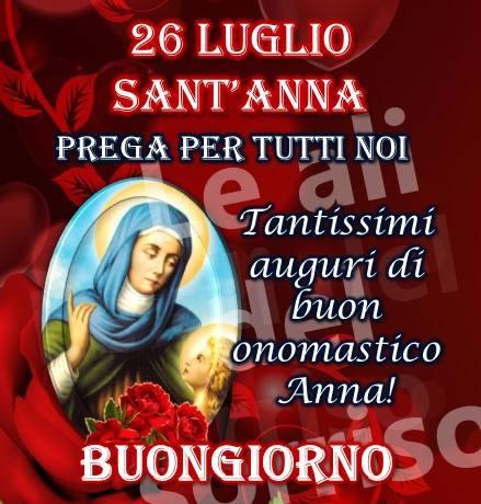 26 Luglio - Sant Anna Prega...