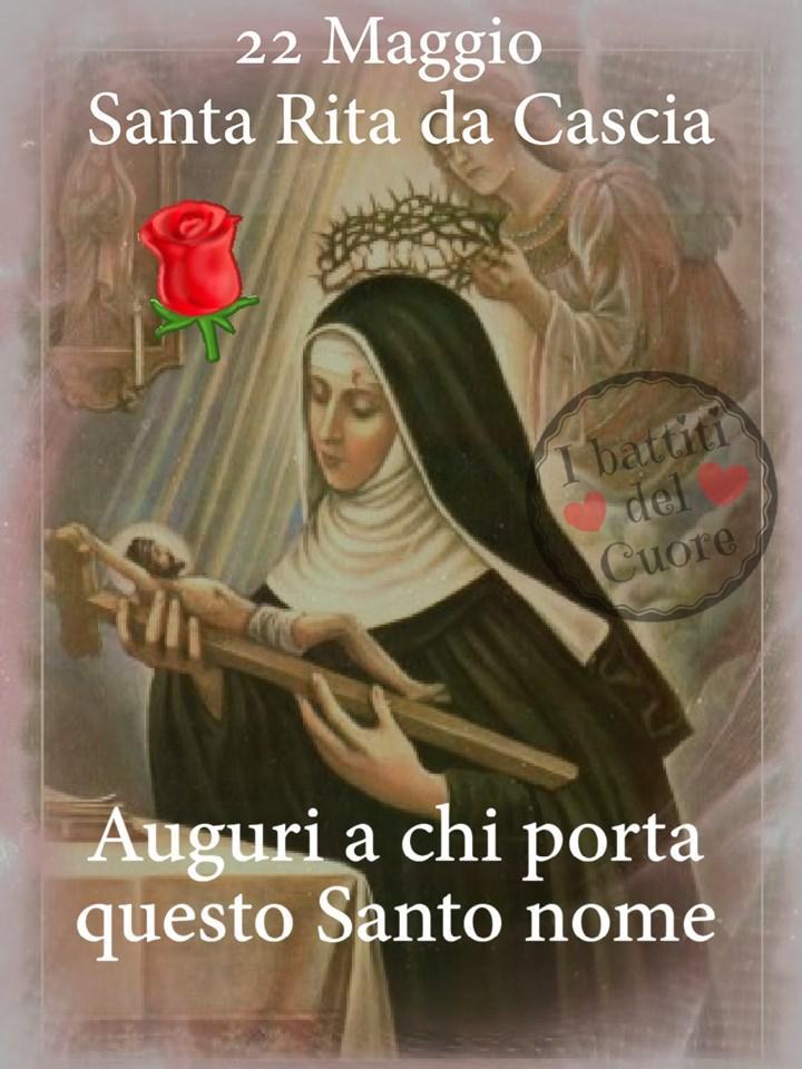 22 Maggio Santa Rita da Cascia...