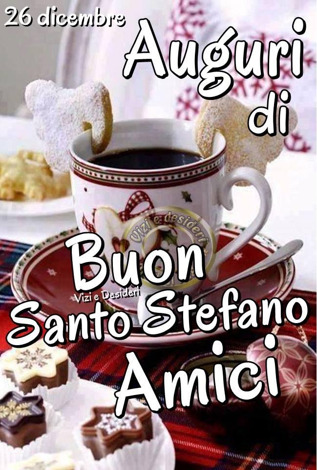 Auguri di Buon Santo Stefano Amici