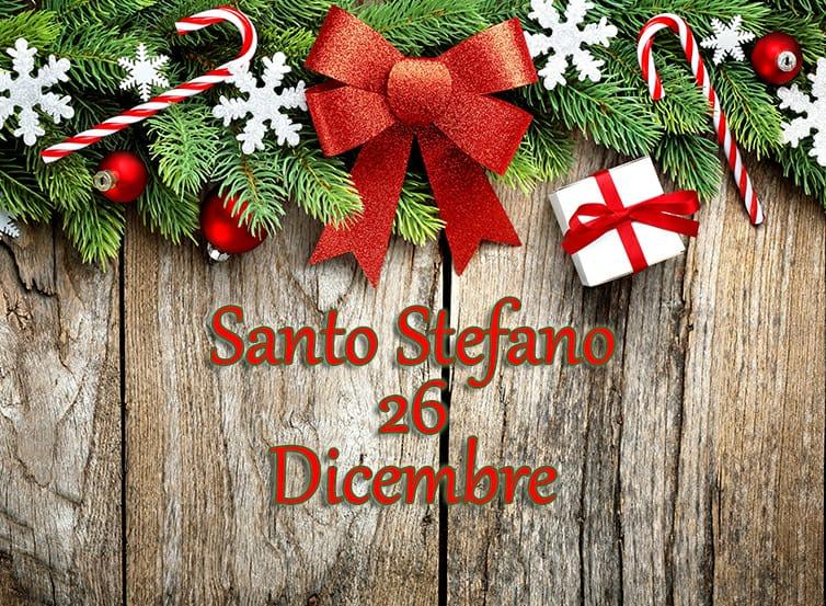 Santo Stefano 26 Dicembre