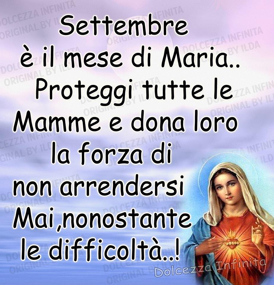 Settembre è il mese di Maria...
