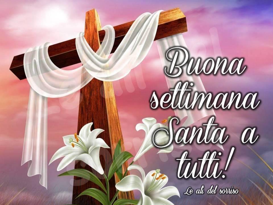 Buona settimana Santa a tutti!