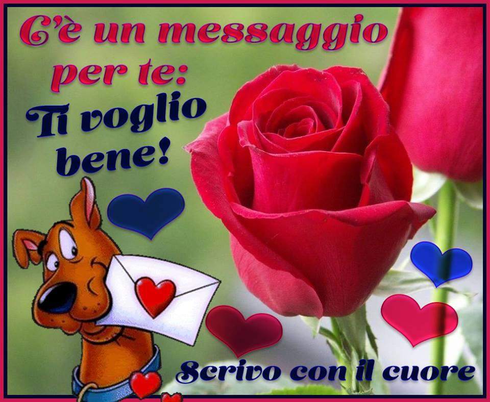 Famoso C'è un messaggio per te: Ti voglio bene! immagine #1298 - TopImmagini CS59