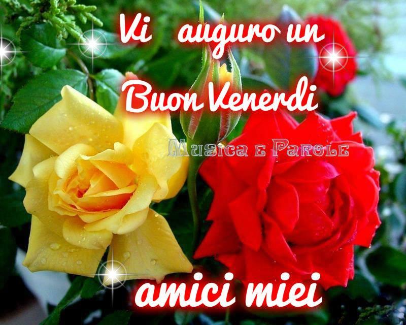 Vi auguro un Buon Venerdi amici miei