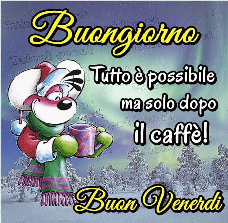 Tutto è possible ma solo dopo il caffè!