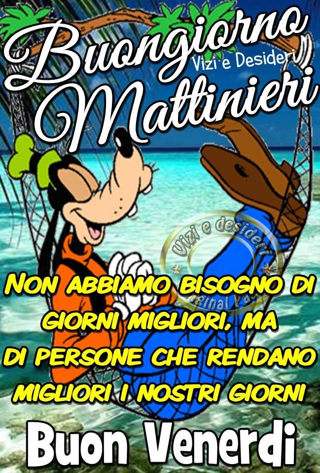 Buongiorno Mattinieri. Non abbiamo...