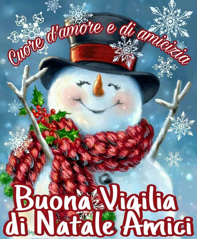 Buona Vigilia di Natale Amici